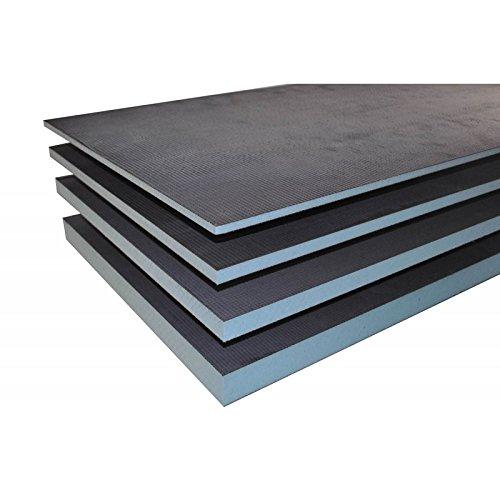 Panneau de construction 1250x600x50mm polystyr/ène extrud/é rigide XPS pr/êt /à carreler Valstorm