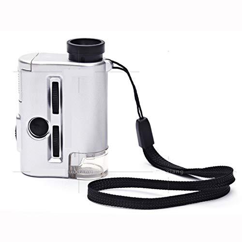 HONGLIIluminación de la lámpara UV 60 Veces 30 Veces el el Veces Mini microscopio portátil de la Mini Lupa de la función af36f3