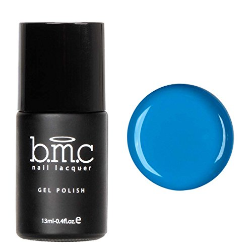 BMC Bright and Loud Blue Gel Lacquer Polish - Neon Wasteland