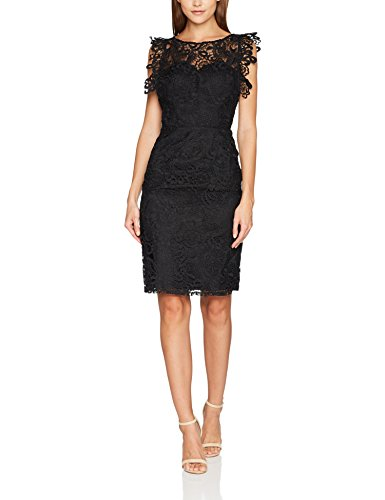 Blk Schwarz Kleid London Etta Chi Chi Damen Black UqAfpgS