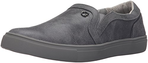 Guess para hombre Thompson Fashion Sneaker gris