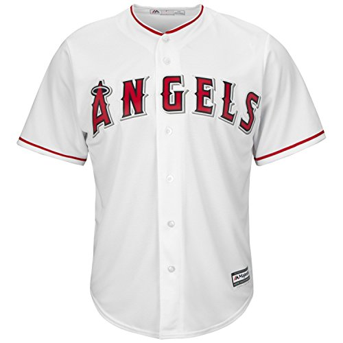 (Los Angeles Angels 2015 Home White Cool Base Replica Jersey (2X))