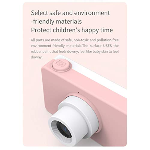 Giokfine 2019 Kids Toys Camera Compact Cameras for Children Gifts, 8MP HD Video Camera Gifts (Pink) by Giokfine (Image #4)