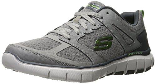 brand new unisex sale online Skechers Sport Men's Skech Flex Power Alley Sneaker Light Gray/Lime countdown package cheap sale brand new unisex Zit5qbU6dU