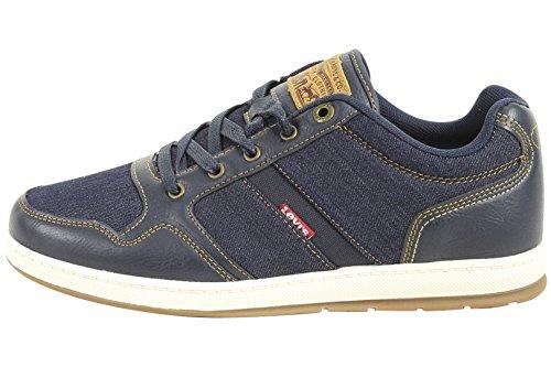 Sneakers En Denim Millenium Levis Lennon, Marine / Denim, 7 Marine / Denim