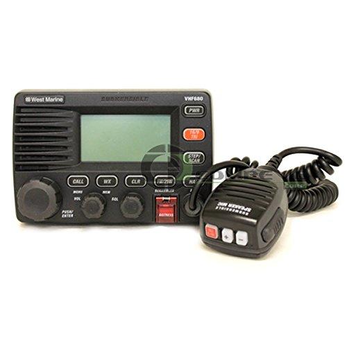West Marine VHF 680 Class 'D' DSC Marine Radio Automatic - Import It All