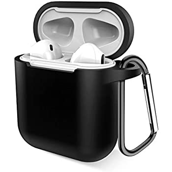 Amazon.com: AhaStyle Upgrade AirPods Case Protective Cover ...