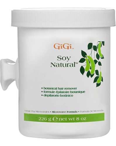 GiGi Soy Natural Botanical Painless Formula Body Hair - Body Wax Gigi Microwave