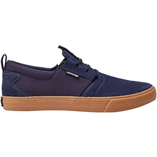 Supra Men's Flow Shoes,11.5,Navy-Gum (Navy Supra)
