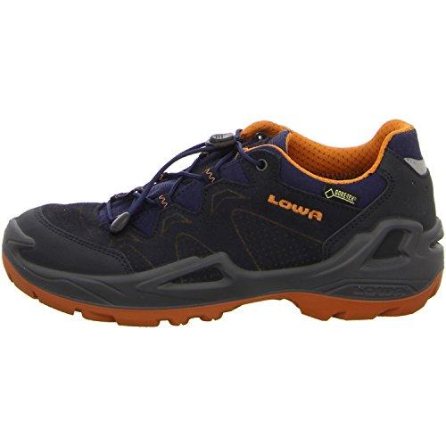 Lowa Unisex Kids' Diego GTX Lo Hiking Boots Dark Blue mRbf79tNw