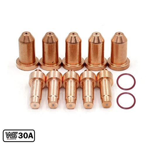 WeldingStop 249926 Electrode 30A Tip 249927 for Miller XT30/XT40 Torch Spectrum 375/625 X-TREME Cutter