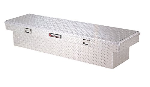 Deflecta Shield Truck Tool Boxes (Lund 5400DB Challenger Series Brite Singe-Lid Crossover Specialty Deep Storage Box)