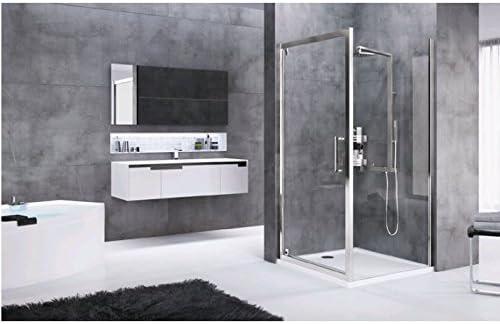 Rose Rosse F: paredes fijo lateral de ducha para conjunto cabina ...