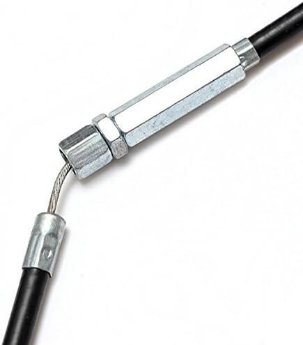 ILS Pit Dirt Stroke Bike Adjustable Clutch Cable 110cc 125cc 140cc Black