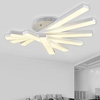 Led Lampe Einfach Moderne Fächerförmige Wohnzimmer Deckenlampe