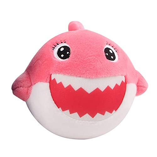 callm Squishies Cake Style Slow Rising Jumbo Squishy Toys Kawaii Cute Scented Squishies Kids Party Squishy Stress Reliever Toy (Pink Shark) -