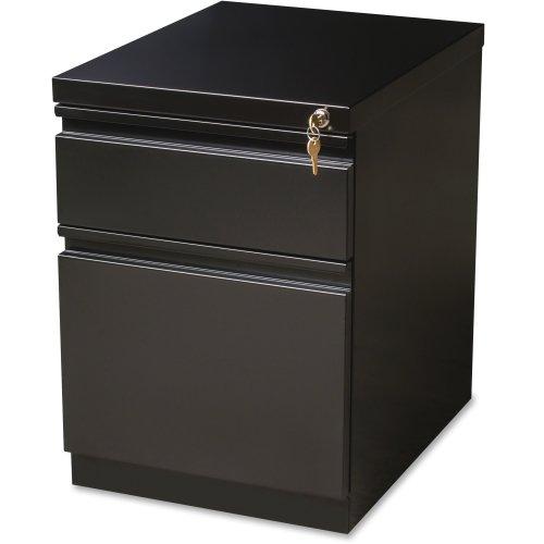 Hirsh HL10000 Series Box/File Mobile Pedestal, Black