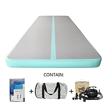 Amazon.com : Gymnastic Air Floor Mat Air Tumbling Track Mat ...