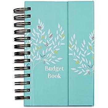 amazon com boxclever press budget book monthly bill organizer