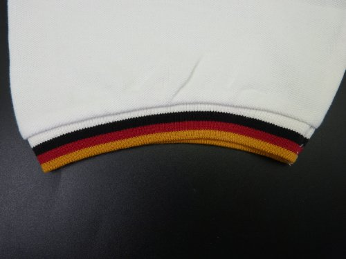 Poloshirt, Polo Shirt, Polo Pique Deutschland, BRD weiss