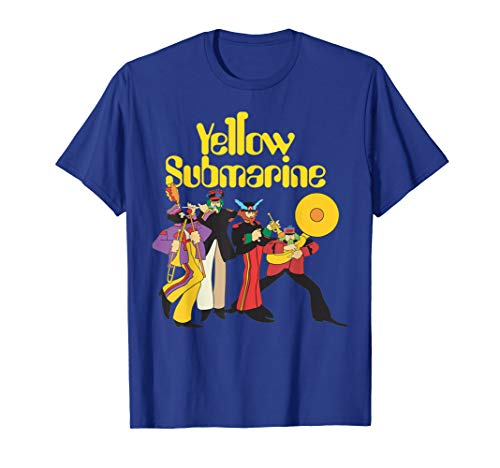 The Beatles Yellow Submarine Party T-shirt