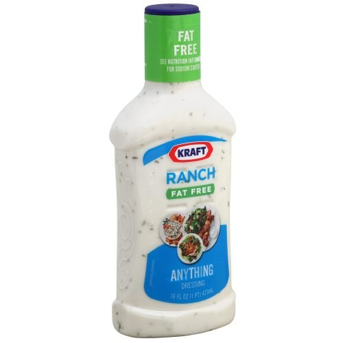 Kraft Fat Free Ranch Dressing, 16 Ounce - 6 Case