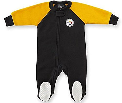 Pittsburgh Steelers Blanket Sleeper with feet (3T)