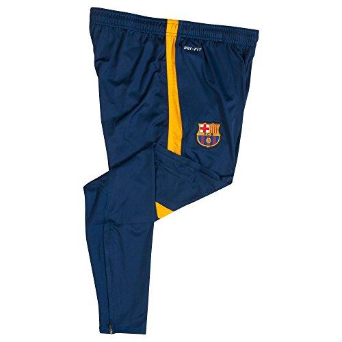 Nike 2015/16 Mens FC Barcelona Strike Tech Soccer Pants [LOYAL BLUE] (S) Blue Strike Jerseys