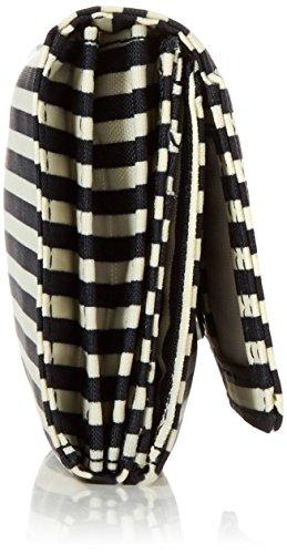 Kipling Damen Brownie Geldbörsen, 19x10x3 cm Mehrfarbig (Marine Stripy)