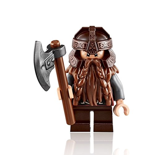 (LEGO The Lord of The Rings MiniFigure - Gimli the Dwarf (w/ Axe) 79008)