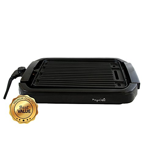 MegaChef Dual Surface Reversible Indoor Grill and Griddle
