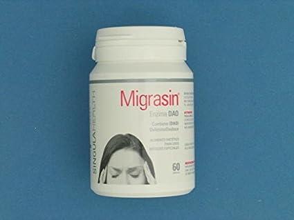 REVA HEALTH - MIGRASIN 30 CAP: Amazon.es: Salud y cuidado ...