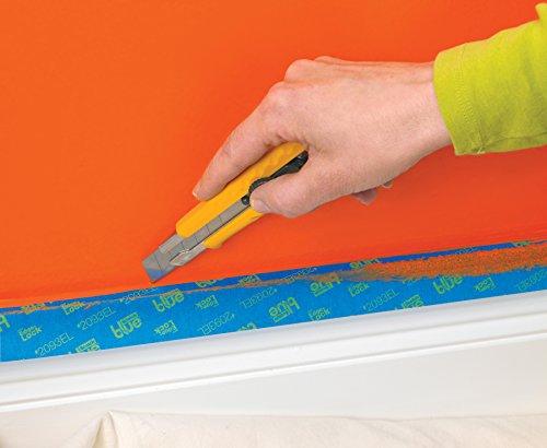 ScotchBlue 2093EL-24CVP Trim + BASEBOARDS Painters Tape.94 in x 60 yd, 3 Rolls, Blue by ScotchBlue (Image #6)