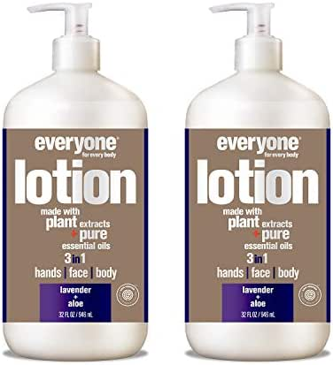 Everyone Lotion, Lavender and Aloe, 32 Fl Oz (Pack of 2)