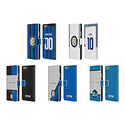 Custom Customized Personalized Inter Milan 2017/18 Leather Book Wallet Case Cover For Huawei P10 Plus
