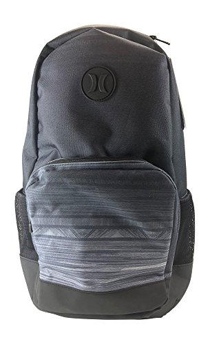 Hurley Renegade Printed Backpack, Black/Anthracite-Grey (Prints may Vary)