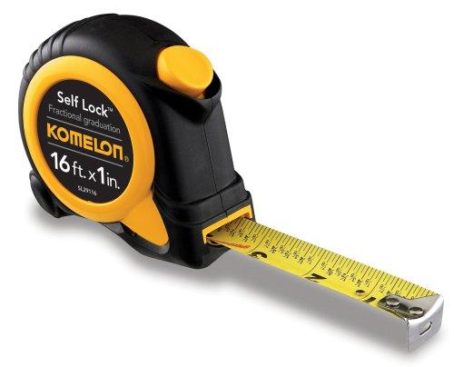 Komelon SL29116 Self Lock Speed Mark 16-Foot Power Tape