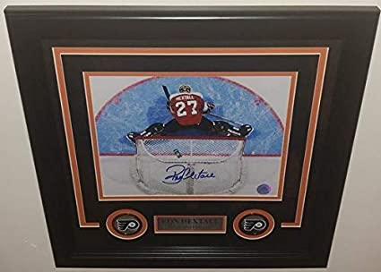 c6611461d Image Unavailable. Image not available for. Color  Flyers Ron Hextall  Overhead Autographed ...