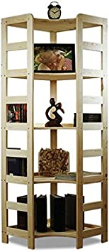 MODO24 Mensola di legno di pino massiccio Scaffale Libreria Scaffale Ufficio modulo R 8/varianti