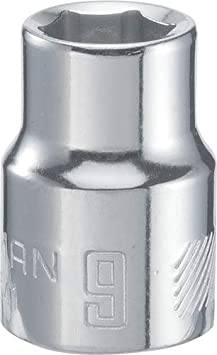 CRAFTSMAN Shallow Socket 16mm Metric CMMT43570 6-Point 3//8-Inch Drive