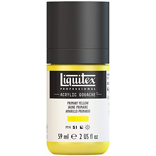 Liquitex Professional Acrylic Gouache 2-oz bottle, Primary Yellow