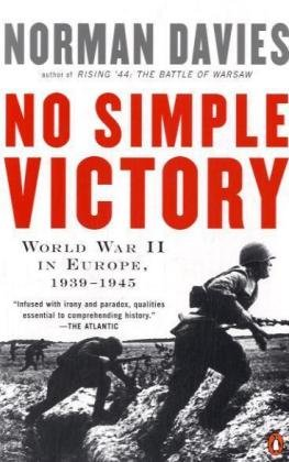 German Navy Wwi (No Simple Victory: World War II in Europe, 1939-1945)