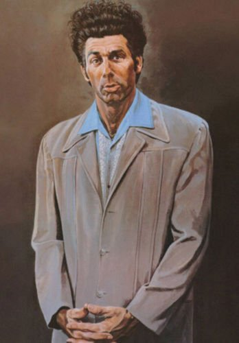 TV Series Poster Seinfeld Cosmo Kramer