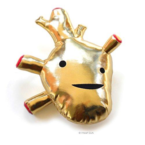 f Gold Metallic Plush ()