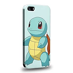 Case88 Premium Designs Pokemon Squirtle Protective Snap-on Hard Back Case Cover for Apple iPhone 5 5s