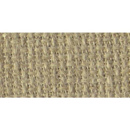 14k Sand - DMC LC0256-1410 Charles Craft Carolina Linen Aida Cloth, Sand, 14 Count