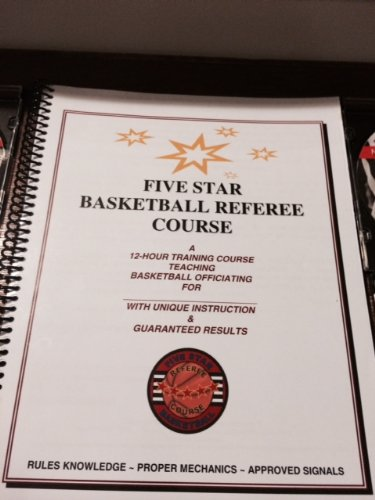 Five Star Basketball Referee Training Book pdf epub
