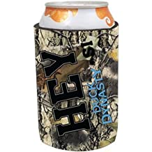 Duck Dynasty Officially Licensed Beer Can Cooler Koozie - Several Styles Available - Uncle Si Phil (Camo - HEY - Si)