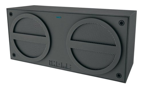 iHome IBN24GX Bluetooth Rechargeable Stereo Mini Speaker (Ihome Stereo Mini Speakers)