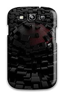 Best 2954186K24980938 Scratch-free Phone Case For Galaxy S3- Retail Packaging - Disintegration